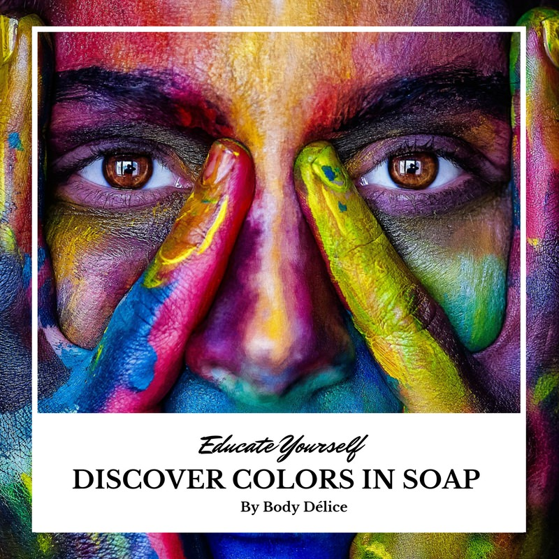 color in soap