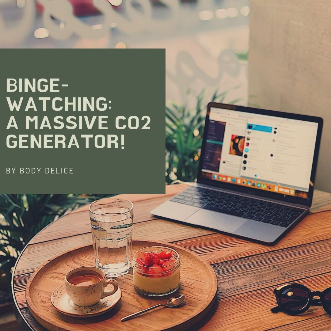 Binge-watching, a massive CO2 generator