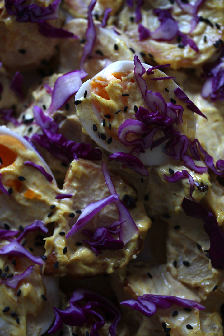 Japanese Curried Potato and Egg Salad