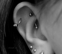 how to clean cartilage piercing infection