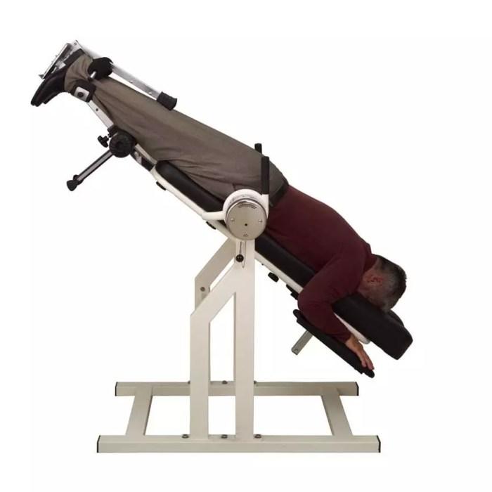 Teeter DFM Inversion Table - Prone Postion