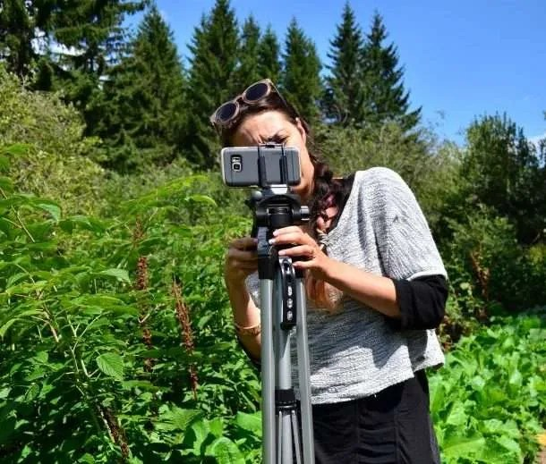 Zornitsa Stoyanova shooting video in Bulgaria