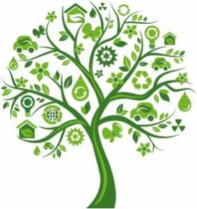 carbon-footprint-recycle-tree