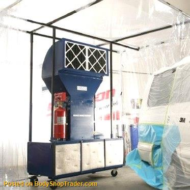 Automotive Portable Paint Booth  Spray Booths  Spray Stations