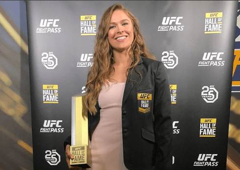 Image result for Ronda Rousey UFC Hall of Fame