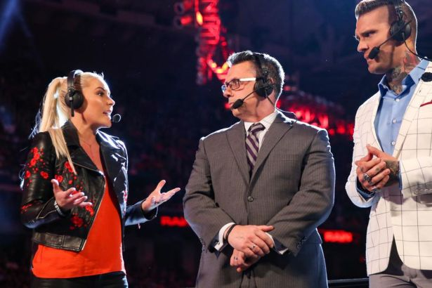 Image result for Renee Young raw announce team