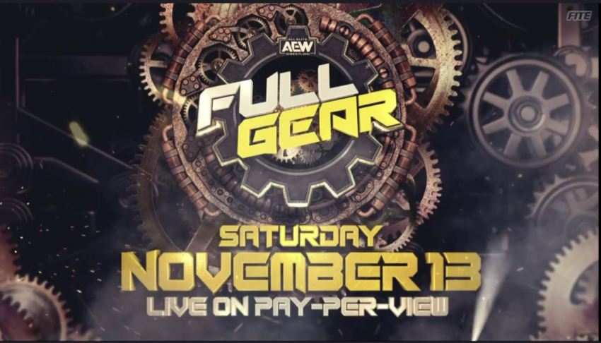 Full Gear will now be November 13th