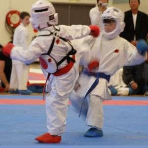 Karate Kids Kumite Kick