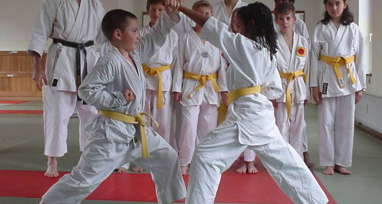 Karate Junior Basic Kumite