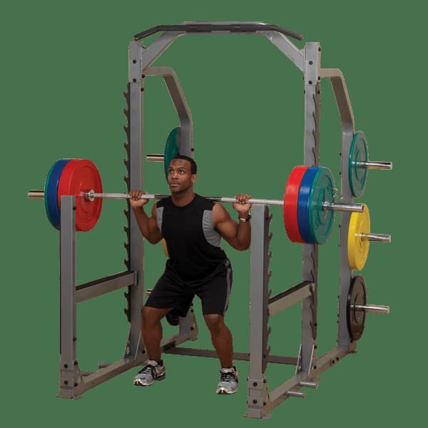 Smr1000 Proclub Line Multi Squat Rack Body Solid Fitness
