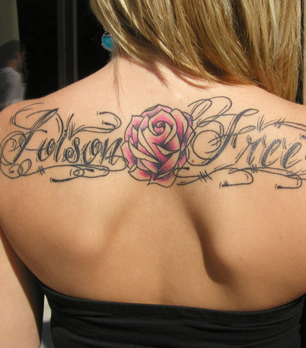 """My 'Poison Free' tattoo stands for my recovery…my life depends on this"