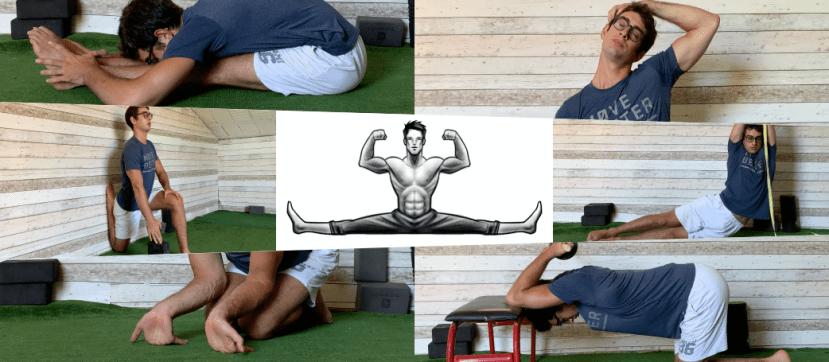 Full body stretching routine