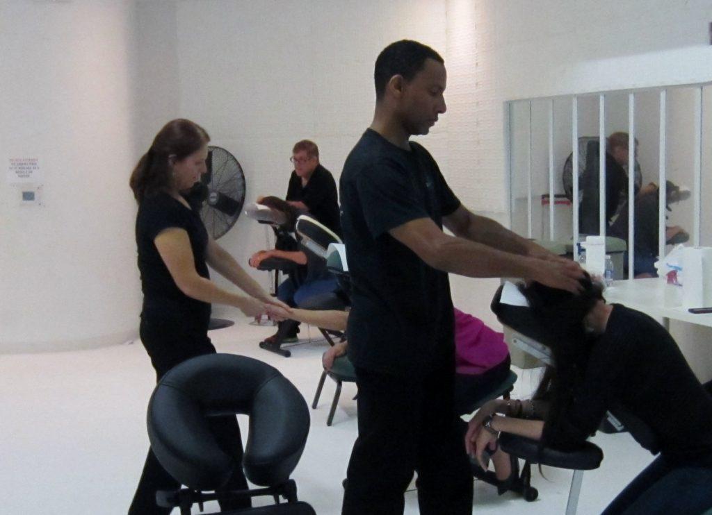 Corporate Chair Massage Service for San Jose CA