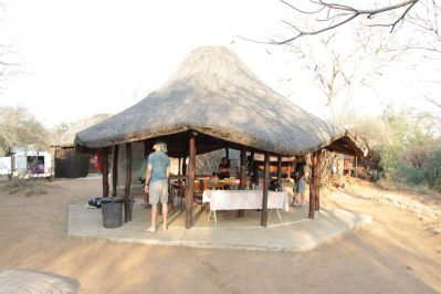 Olifants Trail Camp: Wohnzimmer