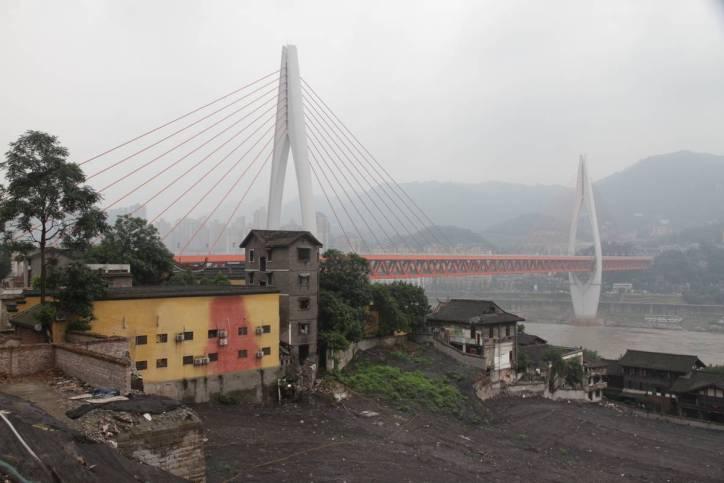 Brücke über den Jangtsekiang