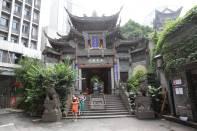 arhat-Tempel in Chongqing