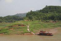 Landschaft am Jangtsekiang