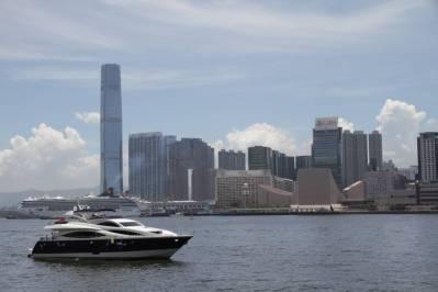 Skyline von Kowloon