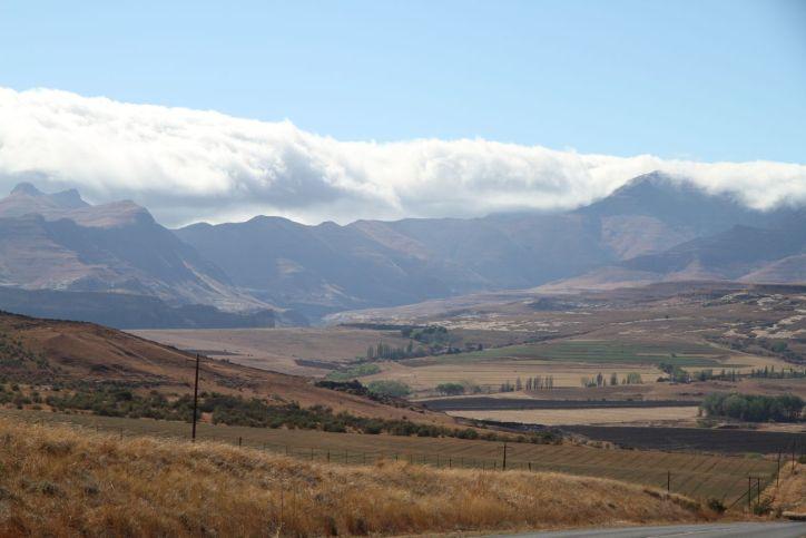 Landschaft bei Clarens