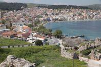 Burg und nördlicher Hafen von Mytilini