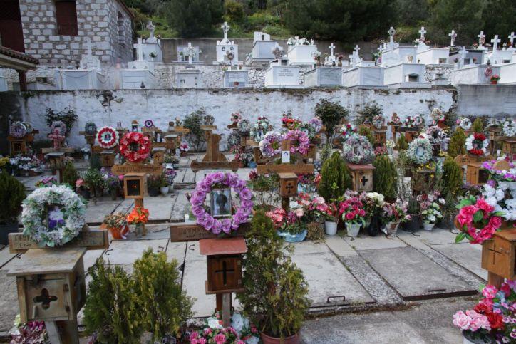 Friedhof in Agiasos