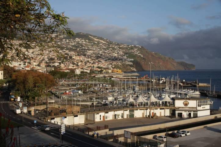 Funchal im Abendlicht