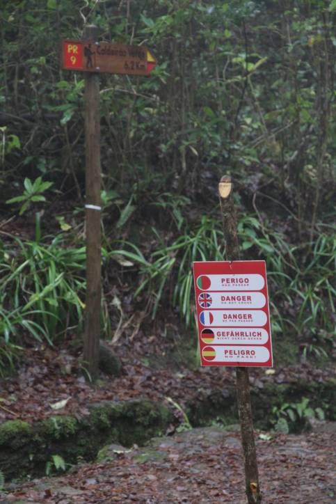 Gefährlicher Weg