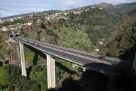 Autobahn oberhalb von Funchal