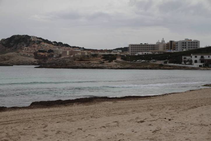 Strand bei Cala Agulla