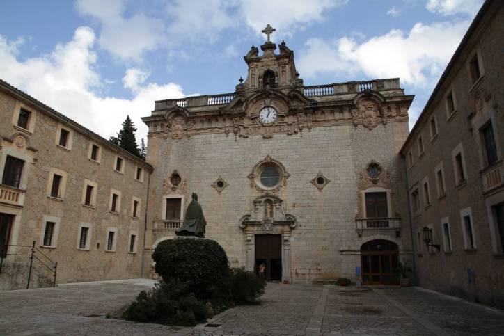 Kirche im Kloster Lluc