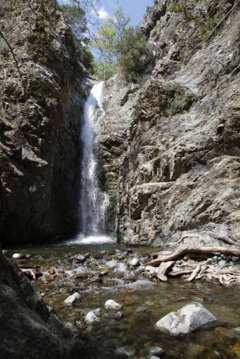 Myllomeris-Wasserfall