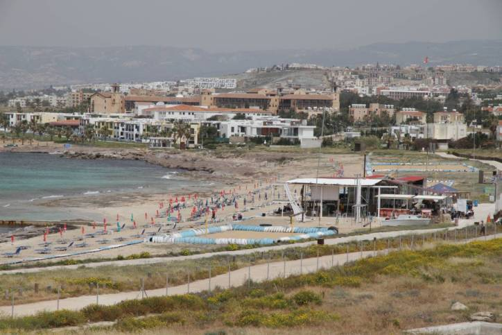 Strand in Paphos