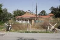Sektorengrenze in Nikosia