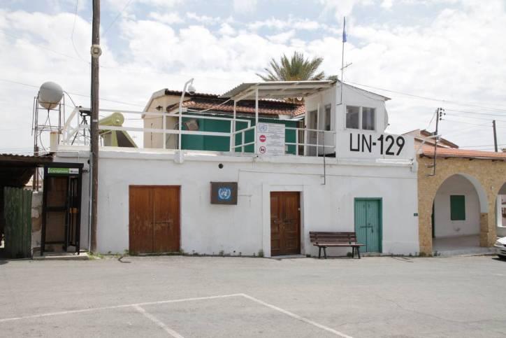 UN-Posten in Pyla