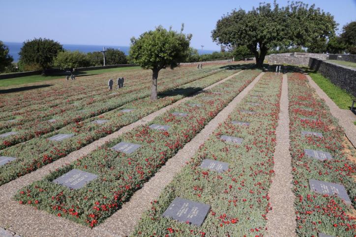Deutscher Soldatenfriedhof in Maleme