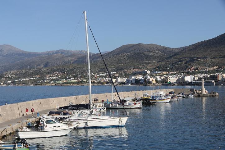 Hafen in Chersonisos
