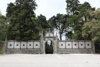 Eingang zum Park beim Palacio Hotel do Bucaco