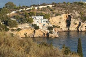 Haus am Meer bei Megara