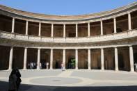 Alhambra: Palast Karl V. (Innenhof)