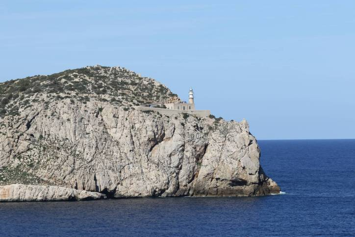 Leuchtturm auf der Insel Dragonera