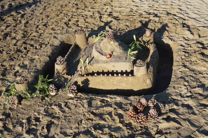 Sandburg in Punta Ala