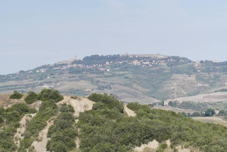Blick auf Volterra