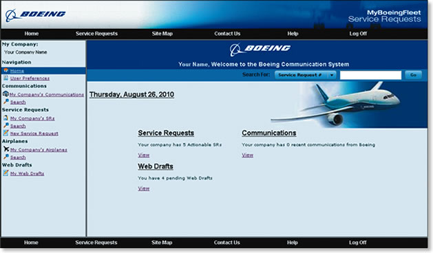 AERO - New Service Requests Application