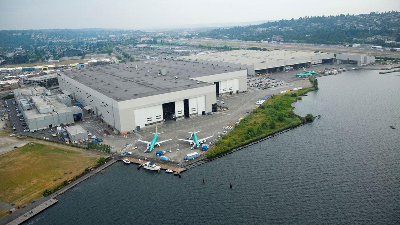 Resultado de imagen para boeing factory aerial view