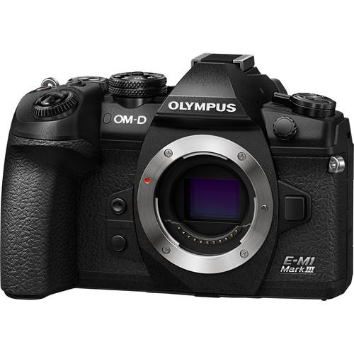 Olympus OM-D E-M1 Mark III (BLACK) (FREE SANDISK 32GB UHS-II & EXTRA BATTERY)