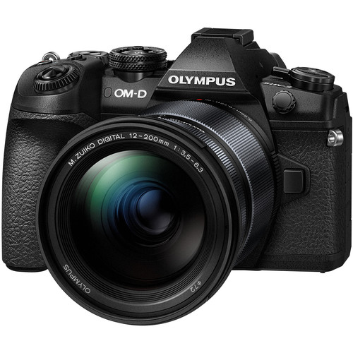 Olympus OM-D E-M1 Mark II with 12-200mm Lens Kit (BLACK) (FREE SANDISK 32GB UHS-II & EXTRA BATTERY)