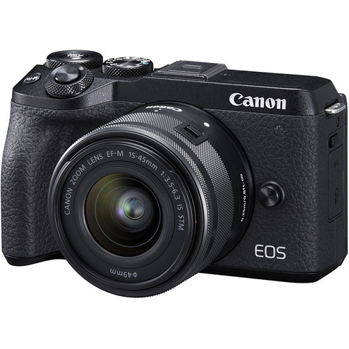 Canon EOS M6 Mark II with 15-45mm Lens (FREE GIFT 32GB SD CARD and CAMERA BAG)