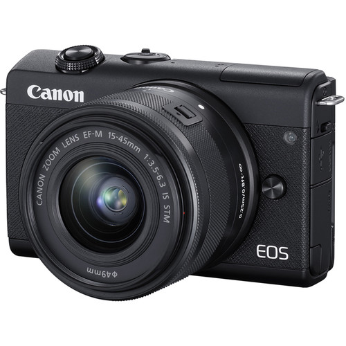 Canon EOS M200 with 15-45mm Lens (FREE GIFT 32GB SD CARD and CAMERA BAG)