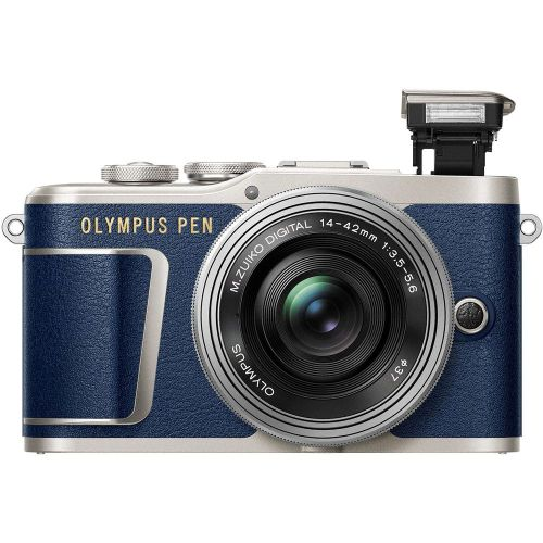 OLYMPUS PEN E-PL9 with EZ14-42 f/3.5-5.6 Lens Kit (FREE GIFT 32GB SD CARD + EXTRA BATTERY + CAMERA BAG)