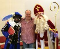 Sint en Piet samen met Wim Schluter